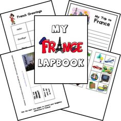 to Geography Lessons and Activities for Homeschoolers France lapbookFrance lapbook Kindergarten Social Studies, Kindergarten Activities, Book Activities, Preschool, Geography Lessons, World Geography, France For Kids, Middle School Geography, World Thinking Day