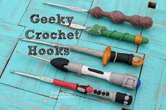 Doodlecraft: Geeky Crochet Hooks!