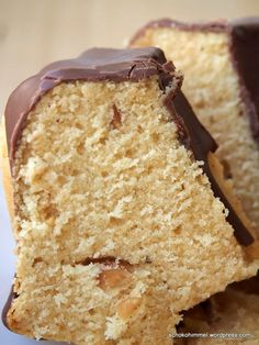 Peanut butter guelhoopf cake
