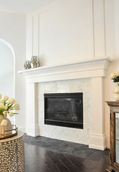 fireplace hearth and surround new house ideas in 2019 pinterest rh pinterest es