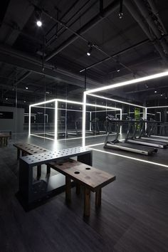 Fitness Design Gym Interior Ideas For 2020 Fitness Design, Gym Design, Retail Design, Clinic Design, Design Ideas, Design Trends, Gym Interior, Interior Architecture, Interior Design