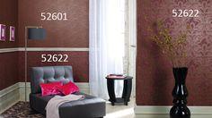 Fourth Wall, Moorish, Of Wallpaper, Arabesque, Wall Design, Curtains, Marburg Wallcoverings, Bedroom, Luxury
