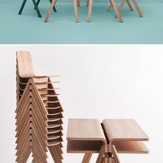 You don't think of big-name designers doing furniture for schools, but Danish furniture brand Hay scored Ronan and Erwan Bouroullec to do their line for the University of Copenhagen. The resultant Copenhague line is a handsome blend of wooden desks, tables, chairs, and stools, some stackable. And in a nod to modern needs, the tables and desks featuring bent plywood provide a slot where the dual surfaces meet, intended for power cables to be routed through.