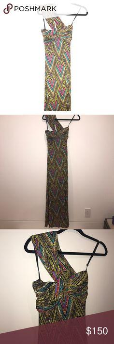 Mara Hoffman Maxi Tribal One shoulder Dress XS Super beautiful never worn size XS authentic Mara Hoffman Mara Hoffman Dresses Maxi