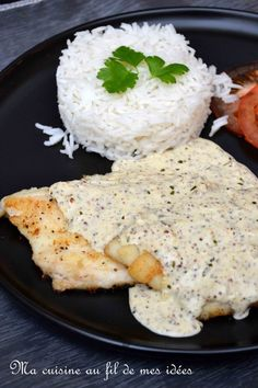 Sauce Crémeuse, Marinade Sauce, Sole Filet Recipe, Filet Recipes, Easy Dinner Recipes, Easy Meals, Asian Recipes, Ethnic Recipes, Vegan Kitchen