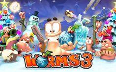Worms3 este oferit la REDUCERE pentru iPhone si iPad prin AppStore