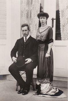 King Albert and Queen Elisabeth of the Belgians.A♥W