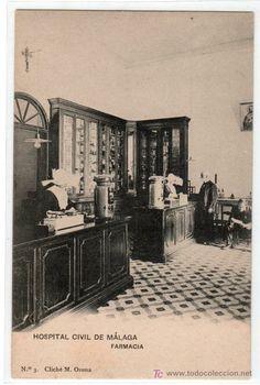 Farmacia Hospital Civil de MÁLAGA (antigua imagen)