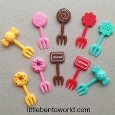 sweets food picks http://littlebentoworld.com/shop/food-picks/sweets-food-picks/