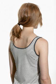 SUNBIRD - Top - blue stripe - Frauen - Fashion against Human Trafficking
