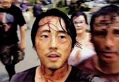 #Steven selfie #TWD bts