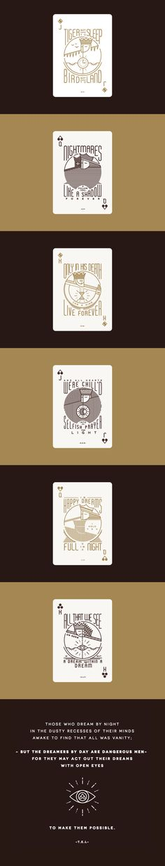 Original playing card design