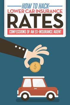 Confessions of an Ex-Insurance Agent. How to hack lower car insurance rates. (The insider's guide!) http://thesavemoneychallenge.com/hacking-lower-car-insurance-rates/