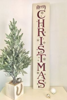 Merry Christmas Sign Vertical Wood Sign Christmas Home Decor Merry Christmas Christmas Home Sign Wood Christmas Sign Rustic Wood Sign Rustic Wood Signs Christmas Decor Home Merry Rustic Sign Vertical Wood Christmas Wooden Signs, Christmas Front Doors, Christmas Wood Crafts, Holiday Signs, Christmas Porch, Rustic Christmas, Christmas Decorations, Merry Christmas Signs, Christmas Manger