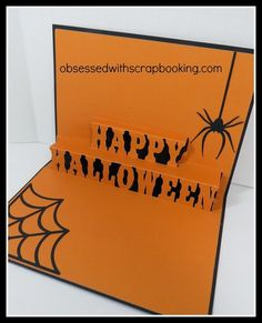[Video]Artfully Sent Halloween Pop Up Card - Close to My Heart #Cricut