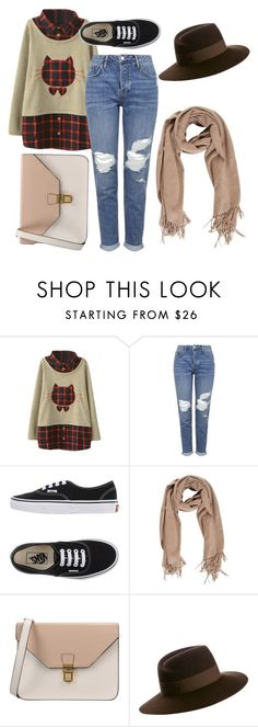 """""""Simple af"""" by rsytsfn-xx on Polyvore featuring Topshop, Vans, 8 and Maison Michel"""