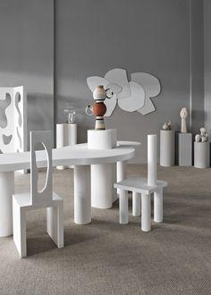 London Design Festival Modern Art Hire and Laura Fulmine present Prototypes by dellostudio Design Furniture, Furniture Styles, Kids Furniture, Furniture Sets, Modern Furniture, White Furniture, Furniture Market, Furniture Logo, French Furniture