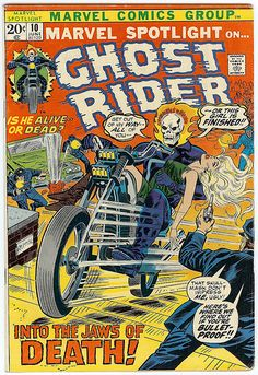 Marvel Spotlight on... 10 Ghost Rider Marvel comics group