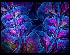 UF + Photoshop Included in List of Top Artists on dA ~ Fractal Art category ~ July 2008 Kindly featured by: ~ April 2008 ~ August 2010 Artwork Copyright ~ © Coco 2008 My artwork may not be edited, ...