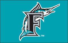 Florida Marlins cap logo 1993-96