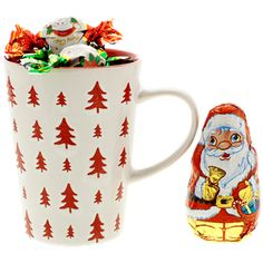 1,69 Weihnachtstasse mit Schokolade Verschiedene Varianten  169 Xmas, Tableware, Red, Random Stuff, Chocolate, Food And Drinks, Figurine, Gifts, Dinnerware