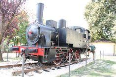 Lokomotive der italienischen Eisenbahn