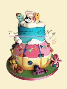 My little pony - friendship is magic — Children's Birthday Cakes