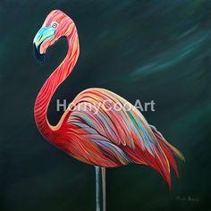 52 Floella The Flamboyant Flamingo