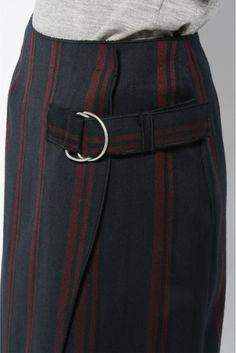 RUE BLANCHE ストライプスカート Summer Looks, Detail, Nice, Skirts, Style, Fashion, Swag, Moda, Skirt