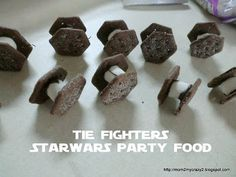 Star Wars Party ... Food - TIE Fighters