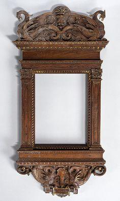 Tabernacle frame, ca. 1510  Florence  Walnut and poplar