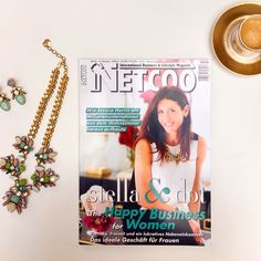 Stella & Dot's Gründerin und CEO, Jessica Herrin, in der aktuellen Ausgabe des NETCOO Magazines  #dreamjob #stelladot #mywork #stelladotde #stelladotstyle