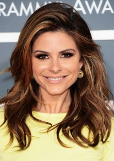 Maria Menounos Hairstyles: Fluffy Waves