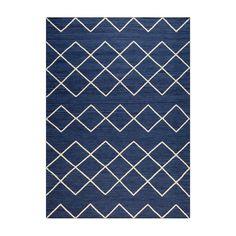 Geometrie 03 Matta 200x300cm, Blå/Offwhite 5850 kr. - RoyalDesign.se