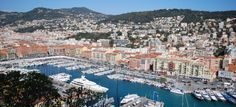 The Port of Nice...