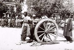 Execution by cannon in Iran sometime in the mid to late 19th century.