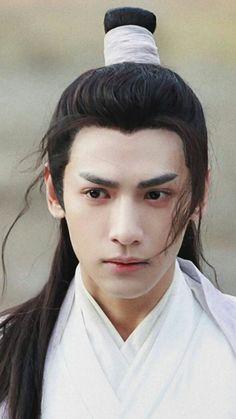 Vans Hi, Boys Long Hairstyles, Chinese Man, Ancient Beauty, Aesthetic Boy, Korean Art, Boy Art, Hanfu, Great Love