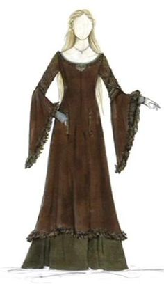 one of the BEST site found yet giving great detail and info on costume of 'Eowyn's gowns