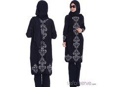 Tesettür Triko Tunik 3732-08 Siyah - KARGO BEDAVA!  --> 39.90 TL - #sefamerve #tesetturgiyim #tesettur #hijab #tesettür