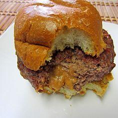 A Texas Boy's Bean Burger. Serve with Jalapeno Queso, Pico DeGallo and Guacamole