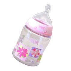 nuk trendline orthodontic 10 oz baby bottles bpa free 3pk girl