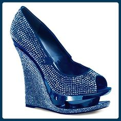 fc673a65ee Pleaser Day & Night - Razzle-660RS - Sexy edle Wedge Plateau High Heels  Pumps