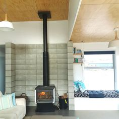 Erin and Jaron's cleverly recycled alpine retreat | Habitat by Resene | Erin and Jaron's cleverly recycled alpine retreat