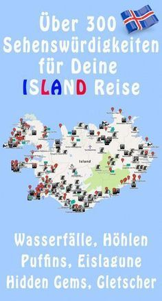 Über 300 Island GPS Koordinaten / Iceland Points of Interest samt bebilderter und klickbarer googlemap und KML-Datei! The ultimate road map for your itinerary.