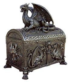 Dragon - Treasure Chest Box.