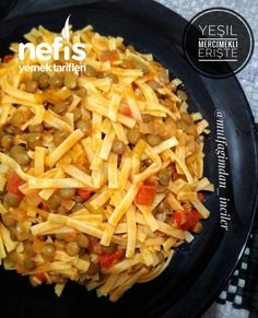 Yeşil Mercimekli Erişte – Nefis Yemek Tarifleri – How to Make Green Lentil Noodle Recipe? Illustrated explanation of this recipe in the person's book and photographs of those who try it are here. Turkish Recipes, Asian Recipes, Mexican Food Recipes, Healthy Recipes, Yummy Recipes, Healthy Comfort Food, Healthy Food, Menu Dieta, How To Make Greens