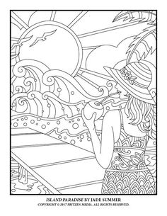jade summer coloring pages 105 Best Jade Summer images | Coloring books, Coloring pages  jade summer coloring pages
