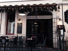 Antica Osteria Brunetti (tip from Lizzie I think) food