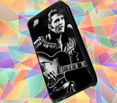Elvis Presley iPhone Case,iPhone 4/4S,5,5S,5C,Samsung Galaxy S5,S4,S3 | chemalekate - Accessories on ArtFire