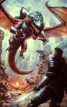 Siege of Draestl by AlexRaspad